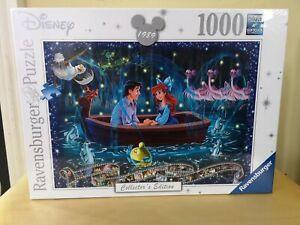 NEW Ravensburger Disney Ariel Little Mermaid 1000 pc jigsaw puzzle Collectors