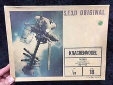 SF3D S.F.3.D ORIGINAL KRACHENVOGEL  1/20 MODEL KIT NITTO JAPAN Maschinen Krieger