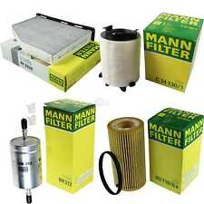 Mann-filter Set Audi A3 Sportback 8PA 2.0 FSI Golf V 1K1 4motion 1T1 1T2