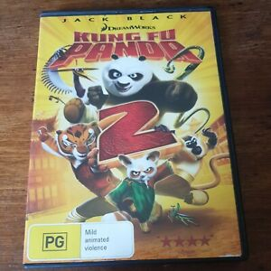 Kung Fu Panda 2 DVD R4 Like New! FREE POST