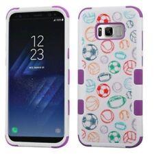 Étuis, housses et coques multicolores Samsung Galaxy S8 en silicone, caoutchouc, gel pour téléphone mobile et assistant personnel (PDA)
