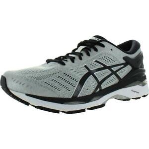 Asics Mens Gel-Kayano 24 Gray Running Shoes 12 Extra Wide (E+, WW) BHFO 7815