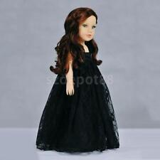 Adorable Black Lace Princess Skirt Dress for 18'' American Girl Doll Clothes