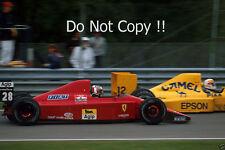 Gerhard Berger Ferrari 640 Canadian Grand Prix 1989 Photograph