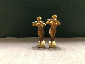 Elastolin / Lineol: German Fifers. 7cm Scale. Pre War c1940