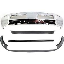 Front Bumper For 94-2001 Dodge Ram 1500 Chrome Steel w/ valance & bumper cover
