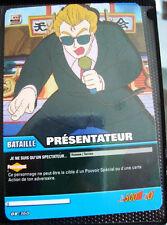 A697 Carte de Collection de jeux DRAGON BALL VF P  PRESENTATEUR  DB 360
