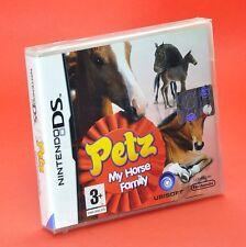 PETZ MY HORSE FAMILY NDS DS DSi LITE Gioco cavalli equitazione Compatibile 3ds