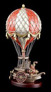 Steampunk Deko Figur - Ballon Luftschiff - Heißluftballon Veronese Viktorianisch