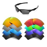 Walleva Replacement Lenses for Oakley Half Jacket 2.0 XL -Multiple Options