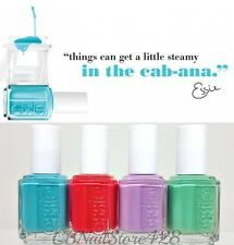 ESSIE Nail Lacquer - In The Cabana Collection- Resort 2013- All 4 Shades 827-830