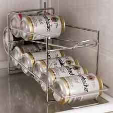 Soda, Beer, Coke, Can Dispenser Refrigerator Beverage Rack Storage Holder