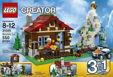 LEGO CREATOR 3 IN 1 MOUNTAIN HUT #31025   FACTORY SEALED