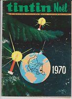 TINTIN n°1154 du 10 décembre 1970 - couverture Tintin.