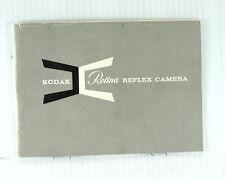 Kodak Retina Reflex Orginal Instruction Book - 40 pages - March 1969