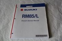 SUZUKI RM85 RM85L OWNERS SERVICE MANUAL GENUINE OEM 2007-2009