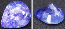 Natural Violet Blue Tanzanite Pear cut Facet Gemstone 1.40Ct