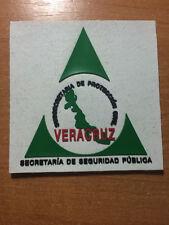 PATCH POLICE MEXICO - SECRETARIA SEGURIDAD PUBLICA _ VERA CRUZ - ORIGINAL!