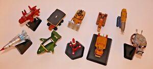 Thunderbirds Konami Vol.1&2. Thunderbird Models set of 10 Candy Toys