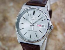 Seiko Alba Rare 1980s Mens Stainless Steel Made in Japan Quartz Watch W18B