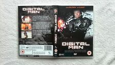 Digital Man DVD Adam Baldwin RARE R0-ALL CLASSIC SCI FI LIKE ROBOCOP VGC