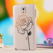 Rose Diamond Hard Case Cover For Samsung Galaxy Note 3 N9000 Accessory Stylish
