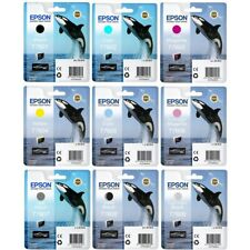 Epson T760 Ink Cartridge Multicolor Value Pack 9 Colors (T7601/2/3/4/5/6/7/8/9)
