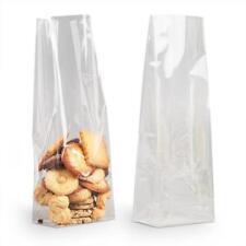 100 sachets 100 x 220 m/m fond carton sac confiserie bonbon  transp. cellophane