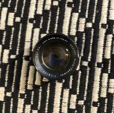 Asahi Pentax Super Takumar 1:1.8 55 mm Camera Lens Made In Japan Vintage As Is