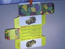 REPLIQUE  BOITE DODGE 4 X 4 COMMAND CAR / DINKY TOYS 1969