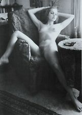 Wladyslaw Pawelec Ltd Ed. Photo Lithograph 27x40 Nude Woman Akt Nus B&W 80s 80er