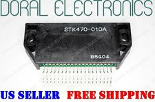 STK470-010A SANYO ORIGINAL Free Shipping US SELLER Integrated Circuit IC