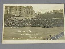 RPPC of Roosevelt Day High School Stadium Tacoma Washington