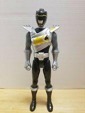 "Bandai 2014 Power Rangers Dino Super Charge Black Ranger 12"" Action Figure"