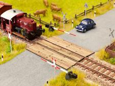 NOCH 14305 Spur H0, Bahnübergang Holzbohlen (LASER CUT minis) #NEU in OVP#
