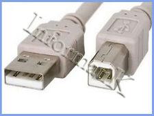 Cavo USB Cable grigio da 1,5 metri per stampante e scanner