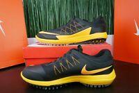 Nike Lunar Control Vapor Men's Golf Shoes Black Orange Rory 849971-004 Multi Sz