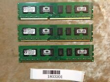 6GB RAM(3 x 2GB) Kingston PC3-10600 DDR3-1333