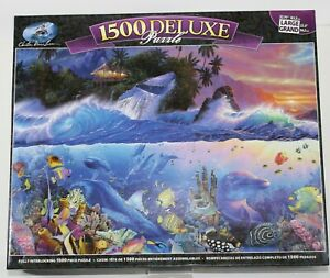 CHRISTIAN RIESE LASSEN BEYOND THE REEF 1500 PIECE LARGE DELUXE PUZZLE - NEW!