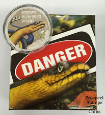 2013 Deadly & Dangerous - The Yellow Bellied Sea Snake 1oz Silver Proof Coin