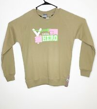 Diesel 55DSL Tan Long Sleeve Crew Neck Sweater Size M