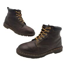 VTG 90's Dr Martens brown size 11 UK 12 US made in England Leather 6 Eyelet Nice