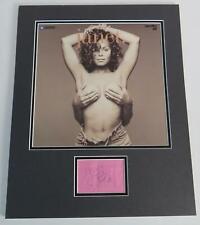 JANET JACKSON Signed Autograph 16x20 Album Record LP Display Michael