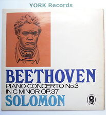 T 540 - BEETHOVEN - Piano Concerto No 3 SOLOMON / MENGES - Ex Con  LP Record