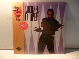 LP,  Michael Cooper, Love Is Such A Funny Game, 1987, Still Sealed, Verschweißt