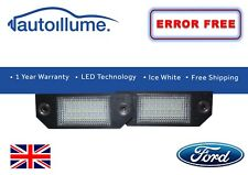 Ford Focus Mk2 ST RS LED Number Plate Lights Units