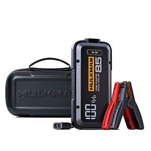 HULKMAN Alpha85S with -40℉ Preheat Tech Smart Portable Jump Starter with Alph...