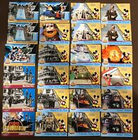 Disneyland 50th Anniversary Celebration Upper Deck 24 Collectible Trading Cards