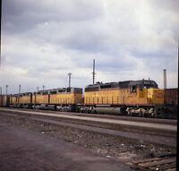 Union Pacific UP EMD SD40-2 Locomotive #3233 - Original Color Railroad Negative