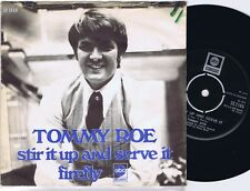 TOMMY ROE Stir It Up And Serve It / Firefly Danish 45PS 1970.